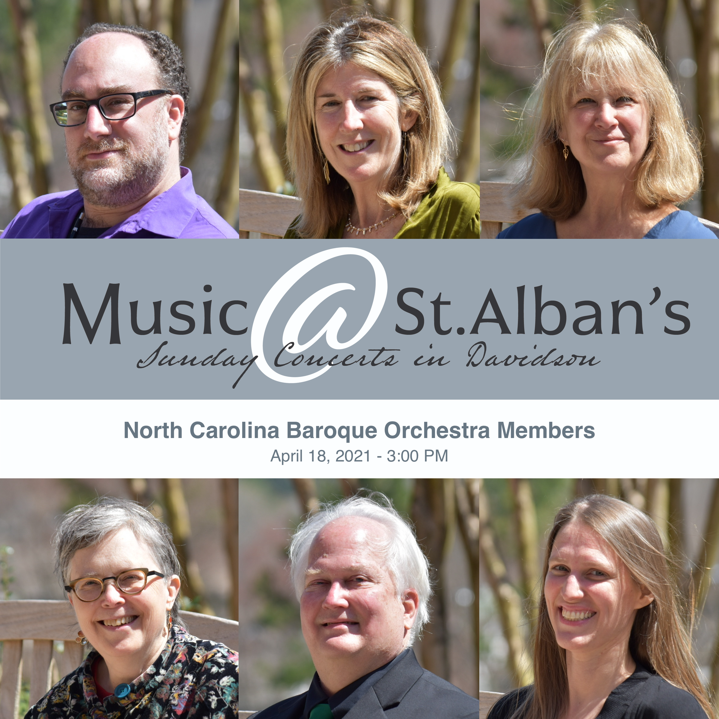 North Carolina Baroque Orchestra Members